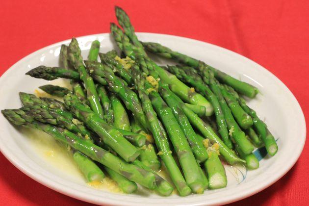 asparaguswithlemonpeel